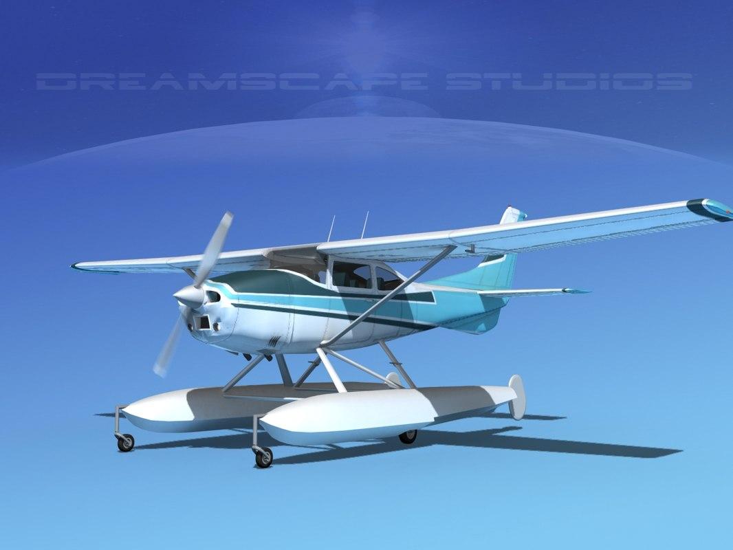 Cessna C-182 Skylane Seaplane TS110001.jpg