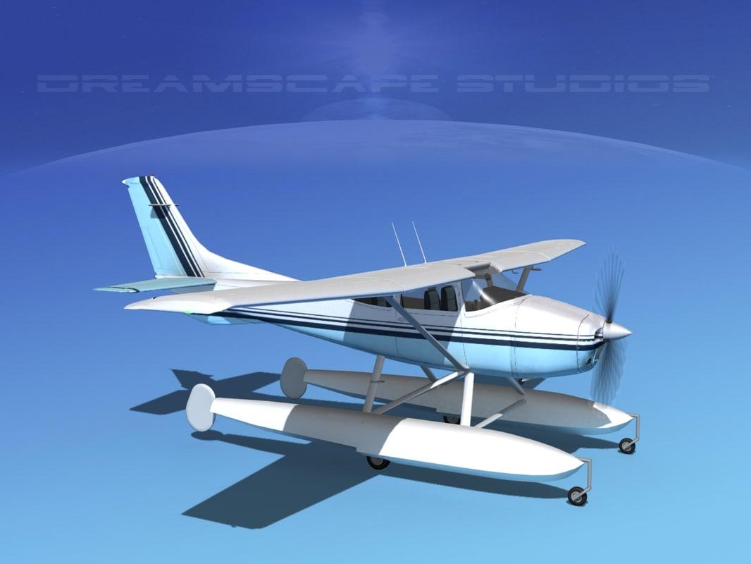 Cessna C-182 Skylane Seaplane TS150030.jpg