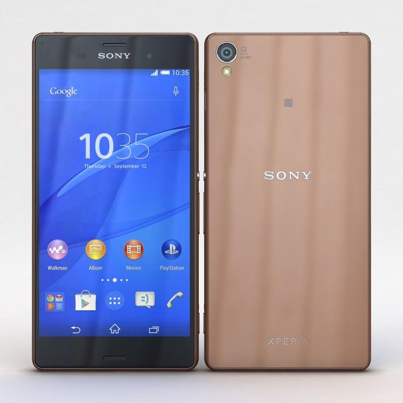 Sony Xperia Z3 & Z3 Dual Copper
