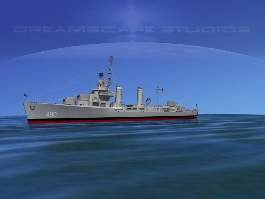 Gleaves Destroyer USS Bristol DD423 0001.jpg