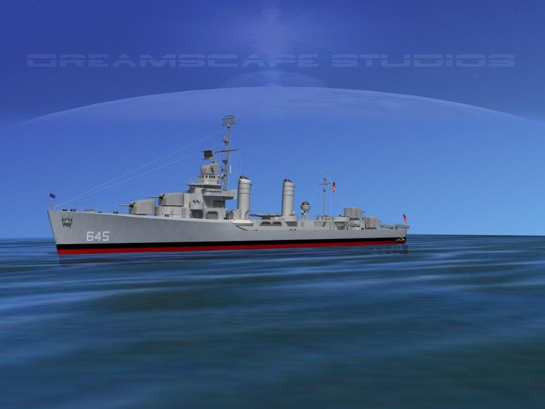 Gleaves Destroyer USS Stevenson DD645 0001.jpg