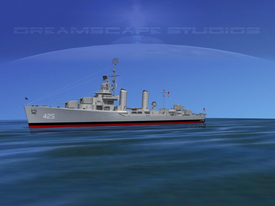 Benson Class Destroyer USS Madison DD425