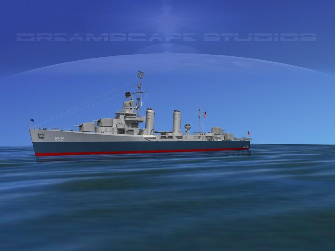 Benson Class Destroyer USS Meade DD602