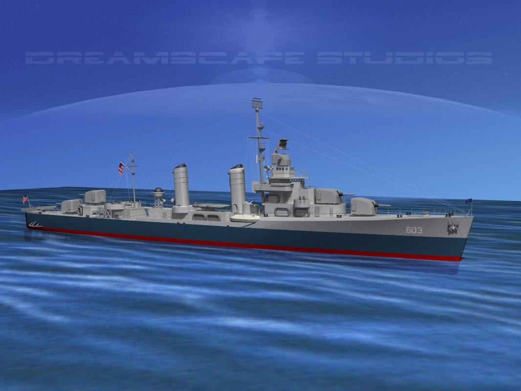 Benson Class Destroyer USS Murphy DD603