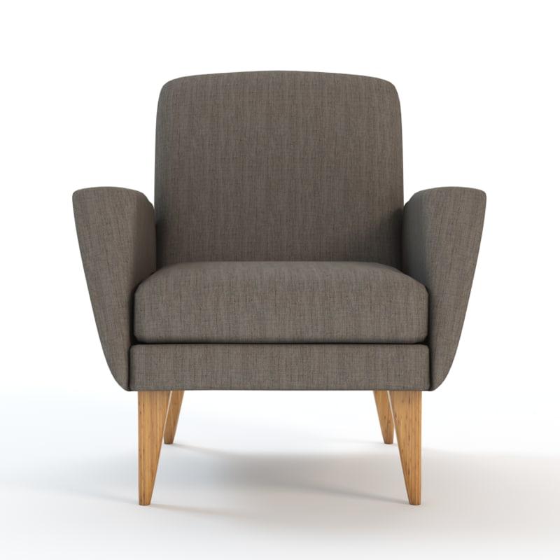 Mid Century Club Chairs