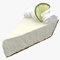 Key Lime Pie 3D models