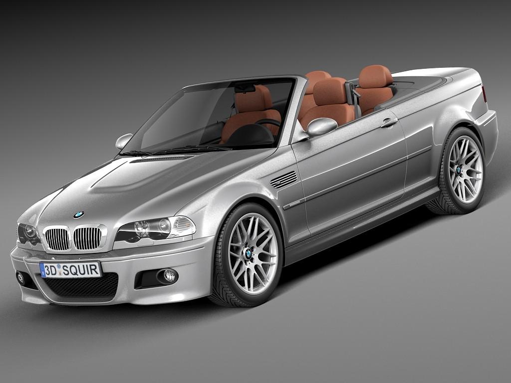BMW M3 e46 convertible 2000-2004