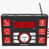 Alarm Clock 3D models