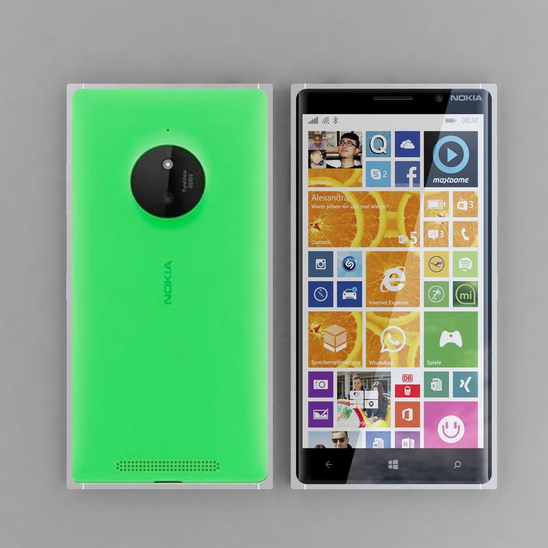 Nokia Lumia 830 Green