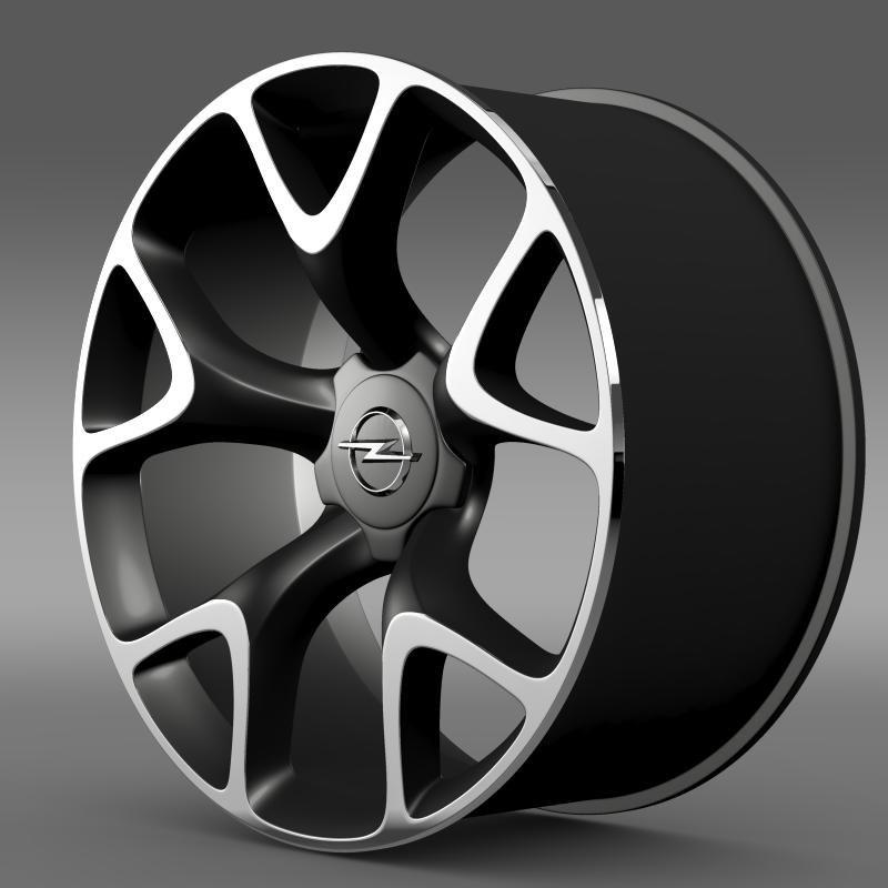 Opel Insignia OPC Concept rim