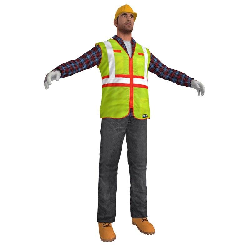 Worker S4 LOD3
