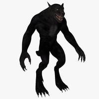 werewolf 3D models