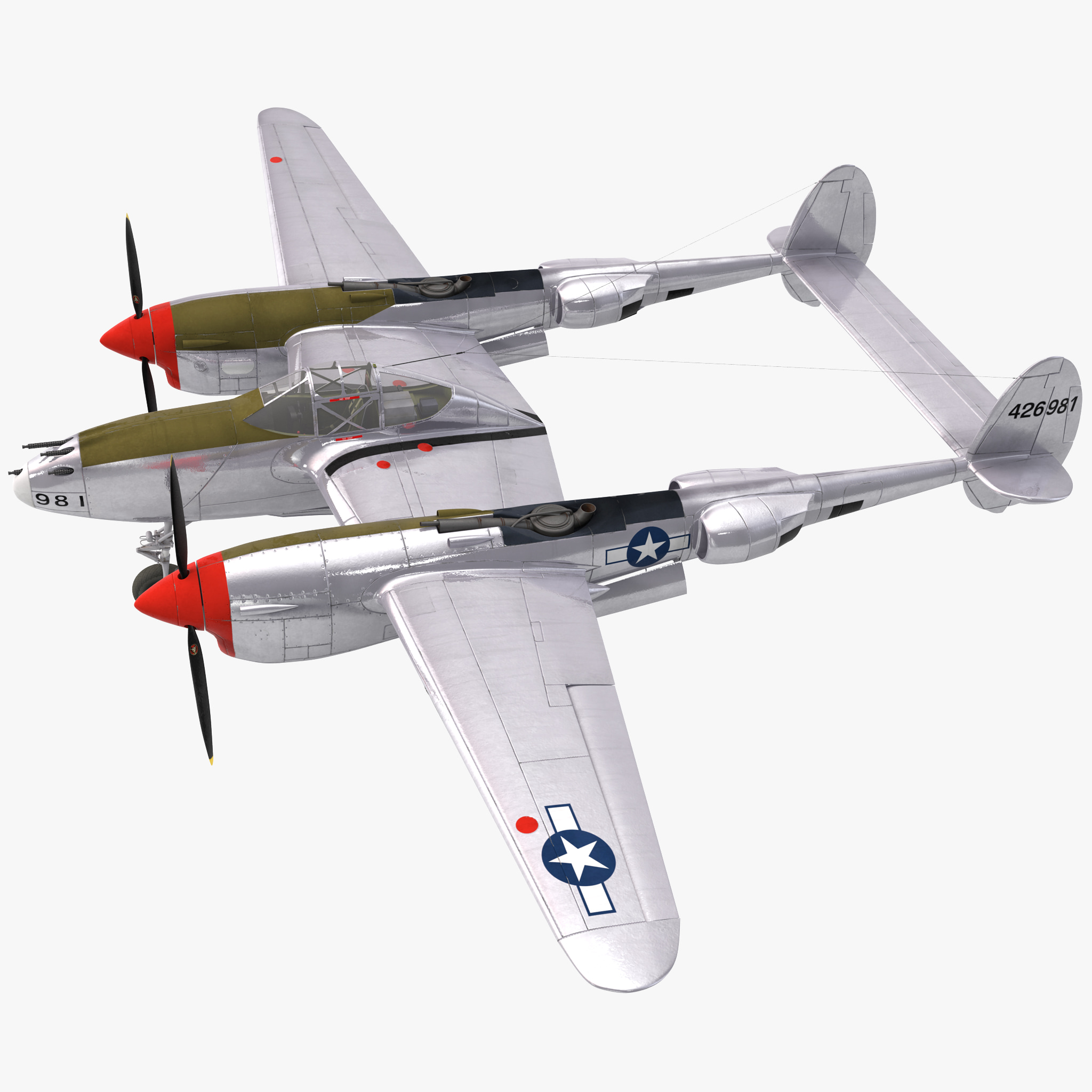 Lockheed P38 3