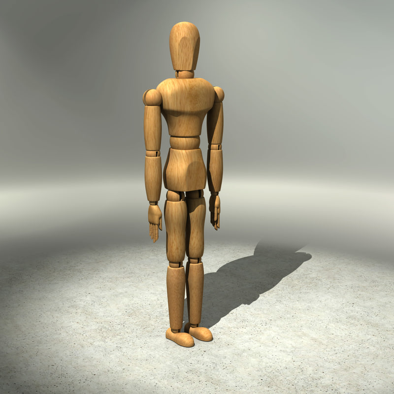 Drawing Mannequin Rigged