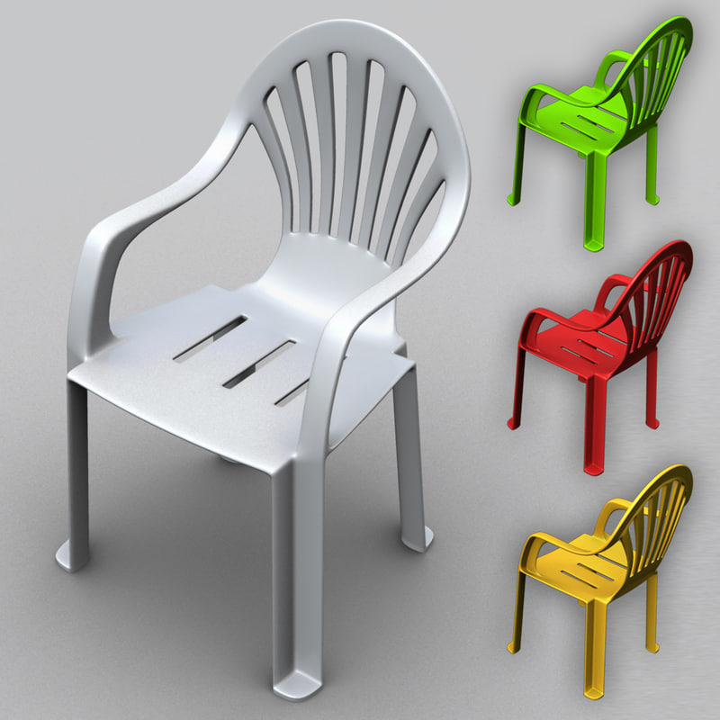 Monobloc Chair: Monobloc Plastic Chair 3d Max