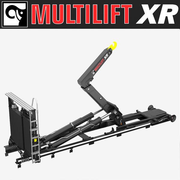 MULTILIFT XR 20 SL 3D Models