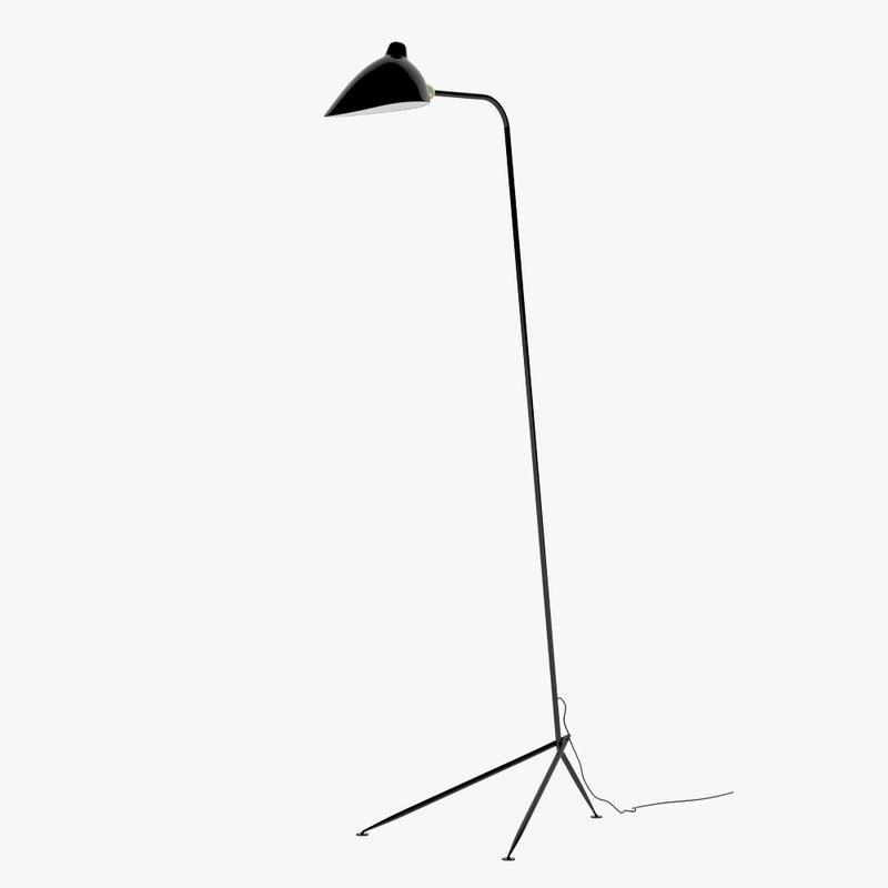 Serge mouille lampadaire light max - Lampadaire serge mouille ...