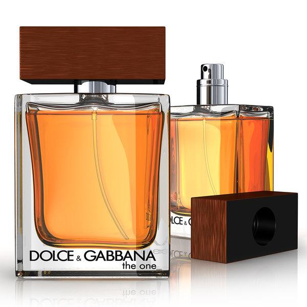 D&G Perfume 3D Models