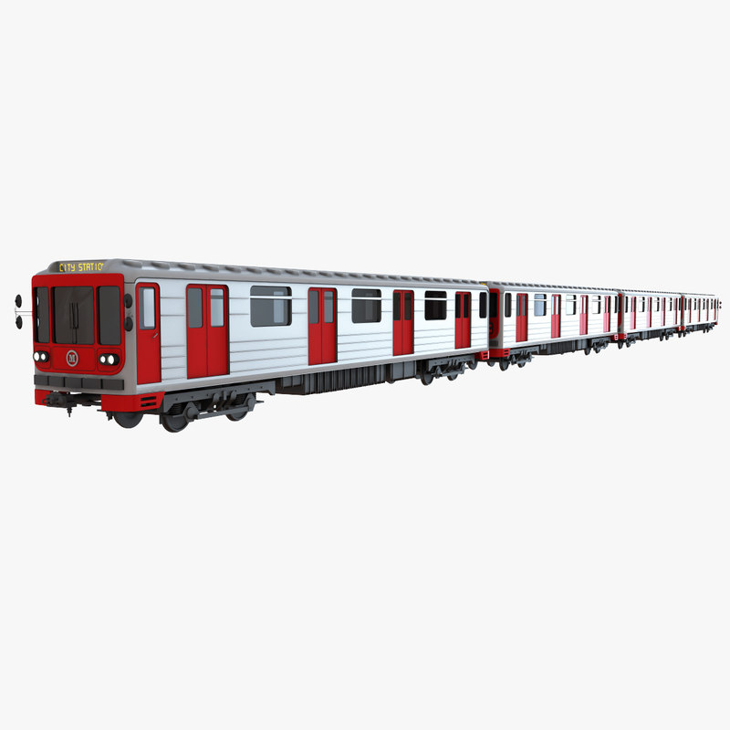 Searched 3d models for Metro Train