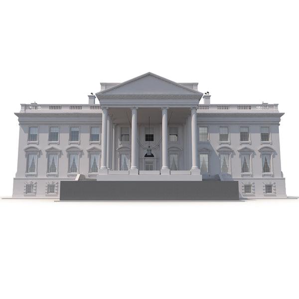 White House 3D Models