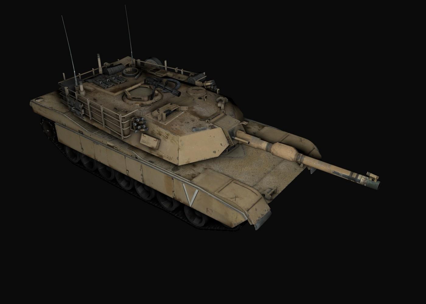 Abrams Modern Tank