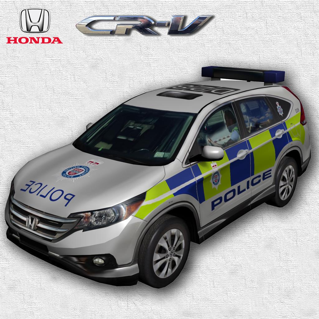 Honda CR-V 2011 Police