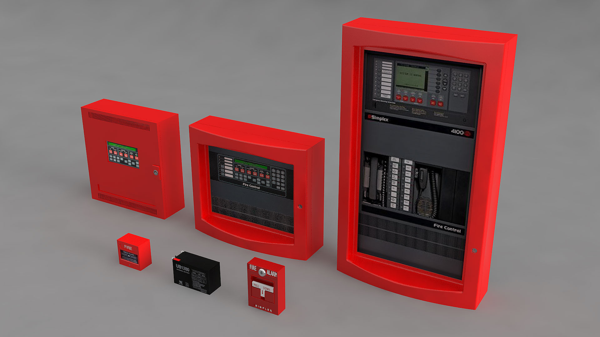 Fire Alarm Modul Colletion