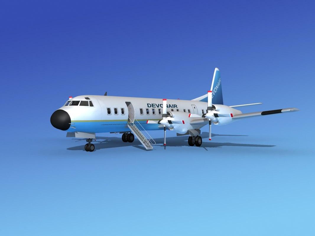 Lockheed L188 Electra HP Devonair