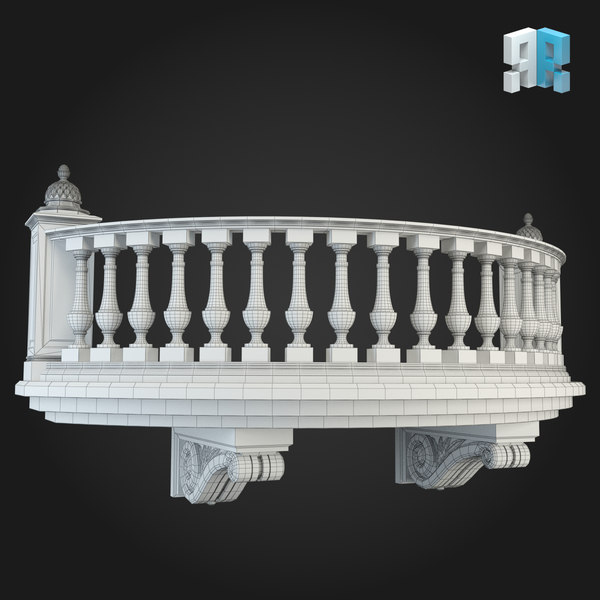 Balcony 011 3D Models