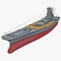 battleship 3D models