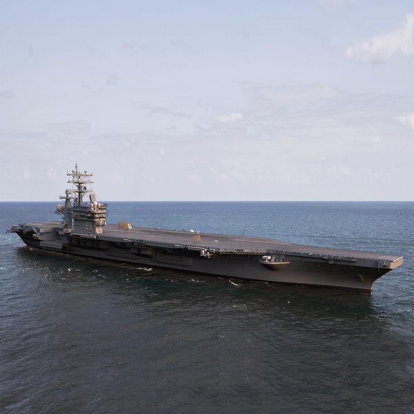 USS Dwight Eisenhower 3D Models