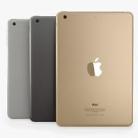 Apple iPad Mini 3 3D models