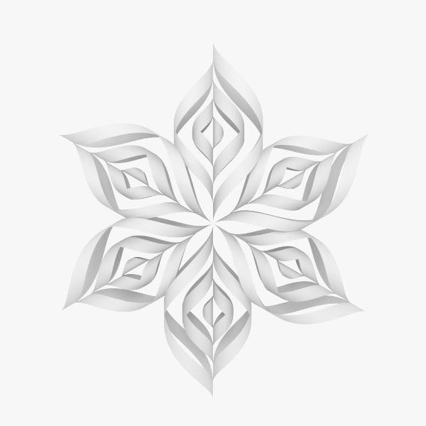 Origami Snowflake V1