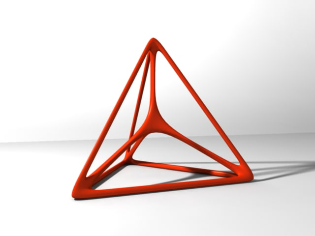 tetrahedron smooth