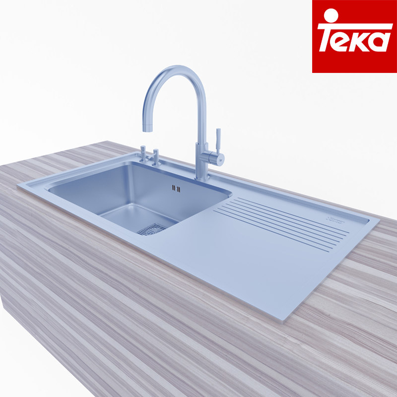 Kitchen Sink Model: 3d Kitchen Sink Teka Model