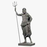 Poseidon 3D models