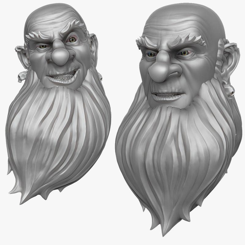 Man with Beard 1