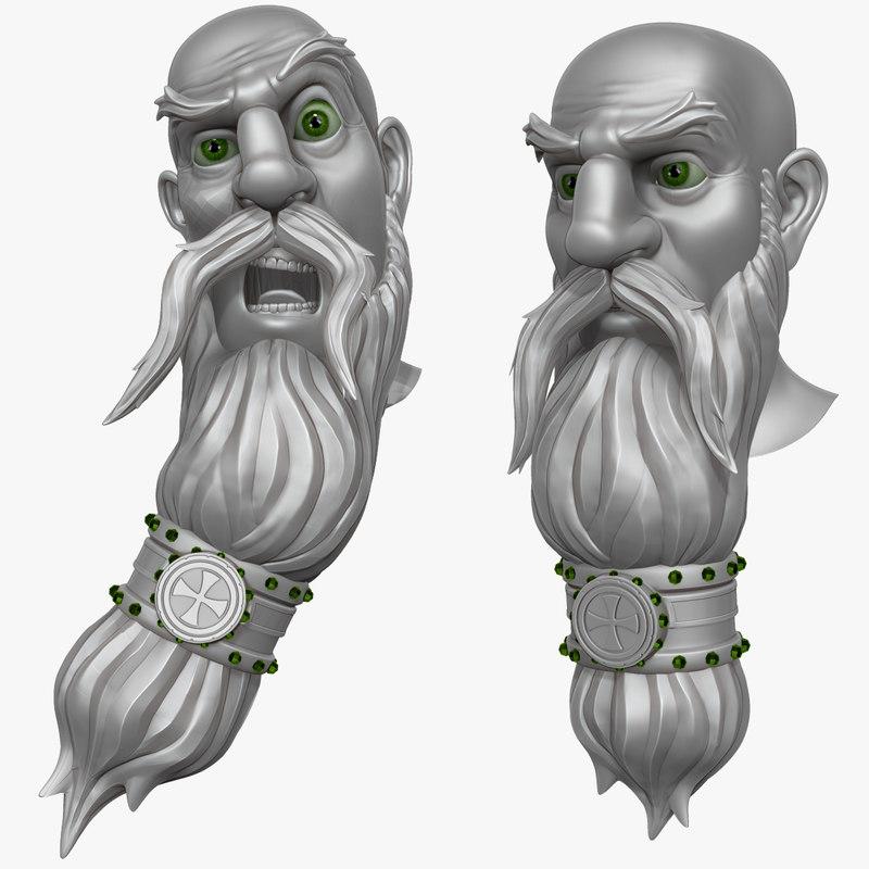Man with Beard 3