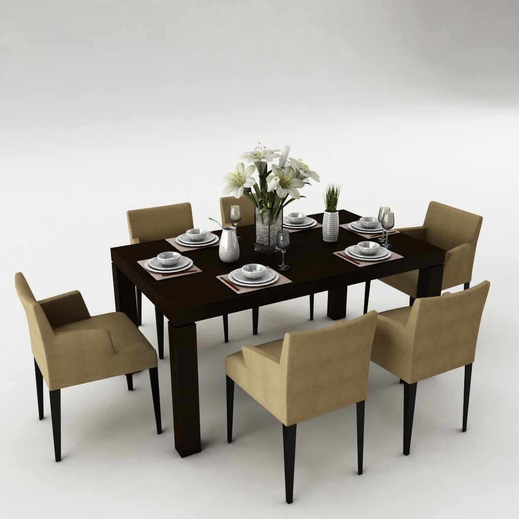 Dining table set 21