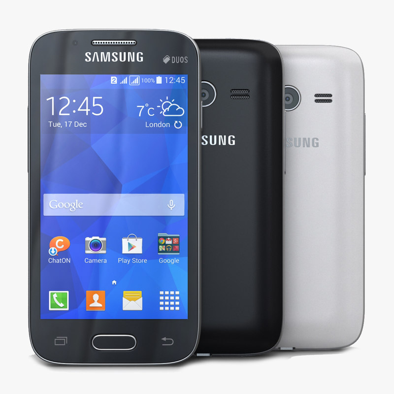 Samsung Galaxy Ace NXT Black & White
