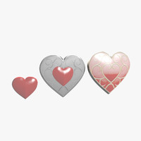 Heart Shaped Box 3D models