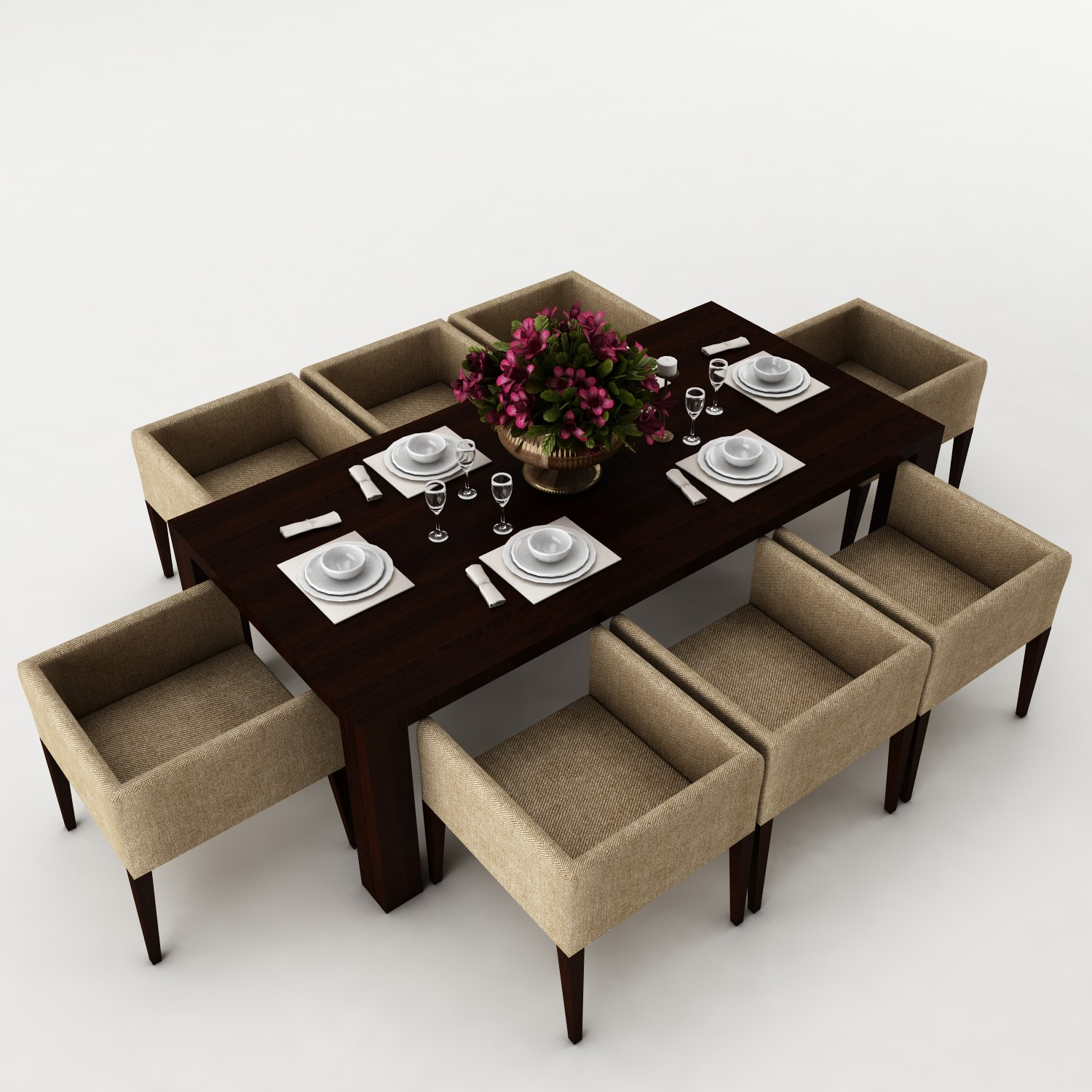 Dining table set 43