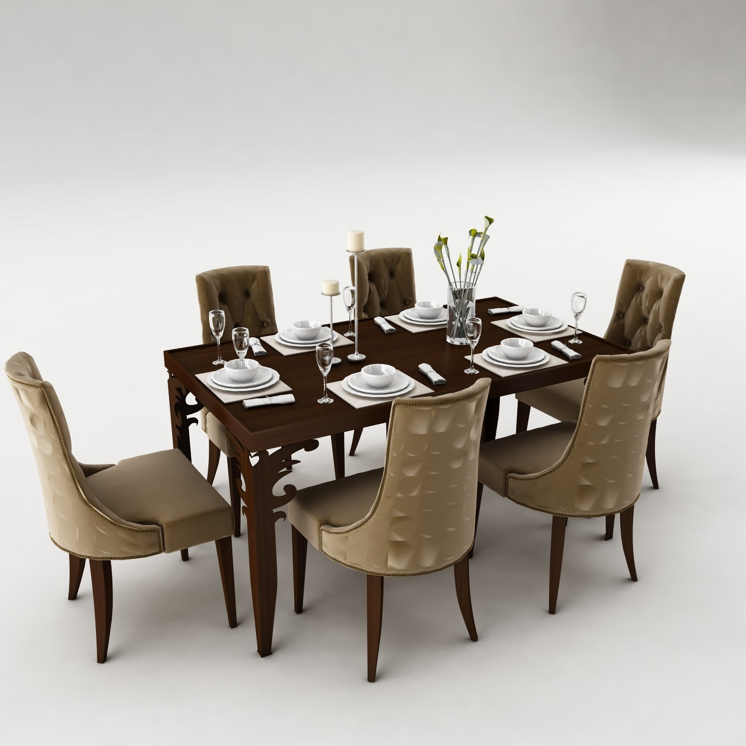 Dining table set 40
