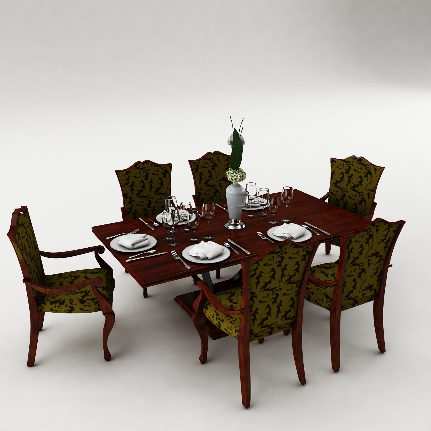 Dining table set 38