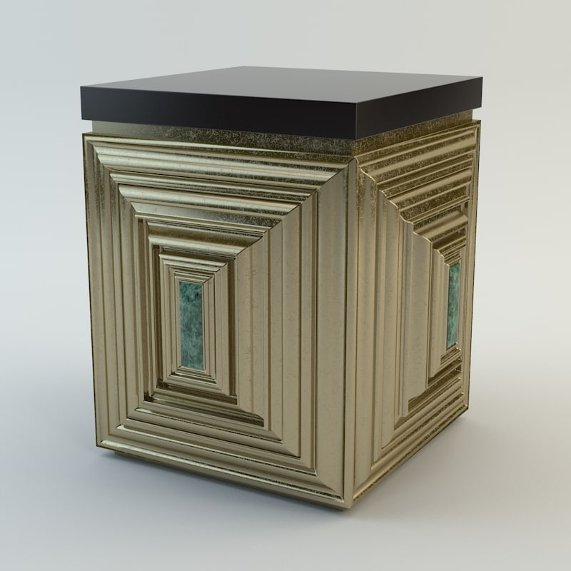 Baker Jade Accent Table