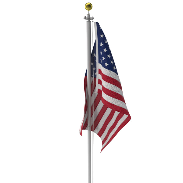 Flagpole 3 3D Models