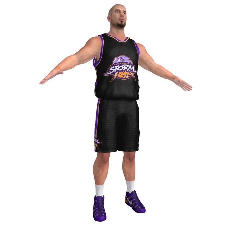 Basketball Player 6 LOD3