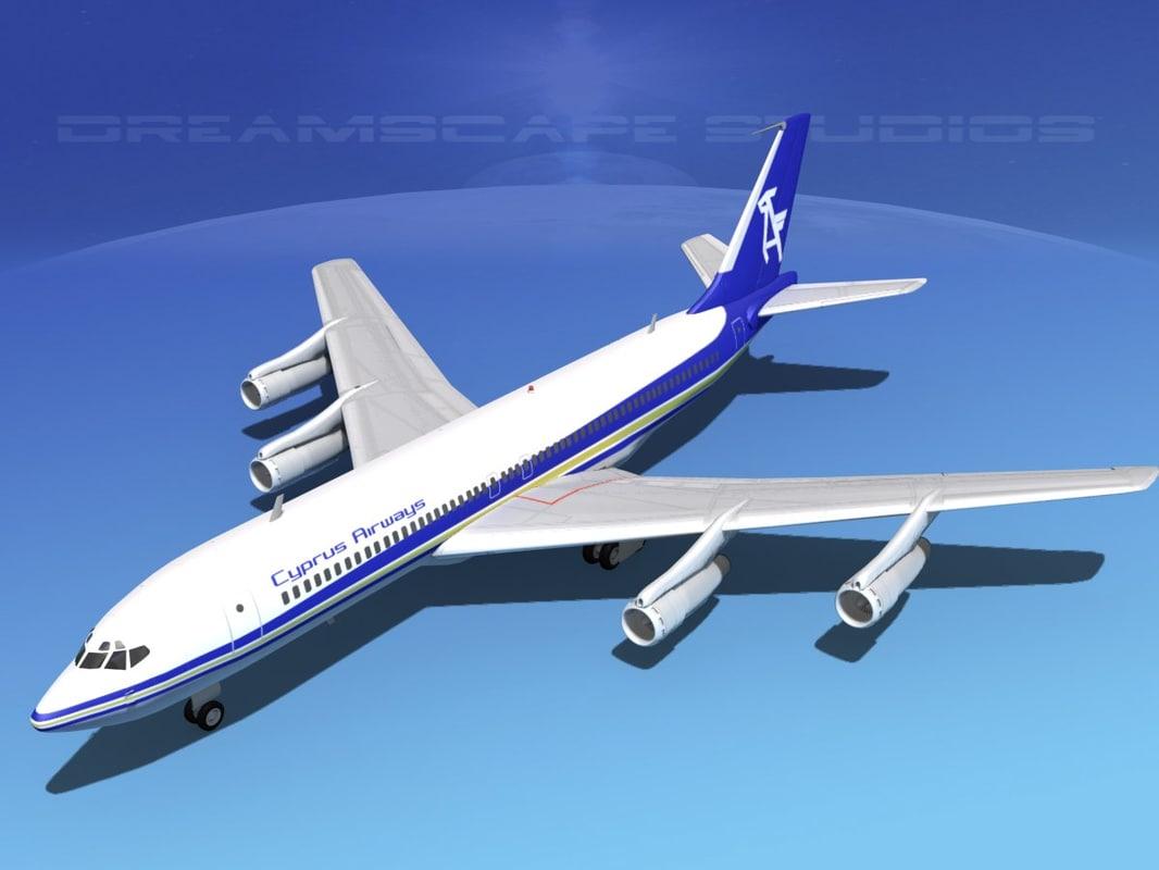 Boeing 707-320 Cyprus Airways