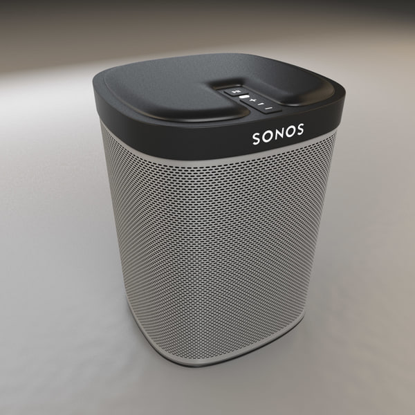 SONOS Play 1 Wifi Speaker 3D Models