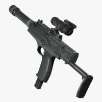 Machine Pistol 3D models